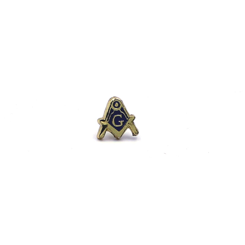 masonic pin with square and compasses – Mason's Store Freemason Store